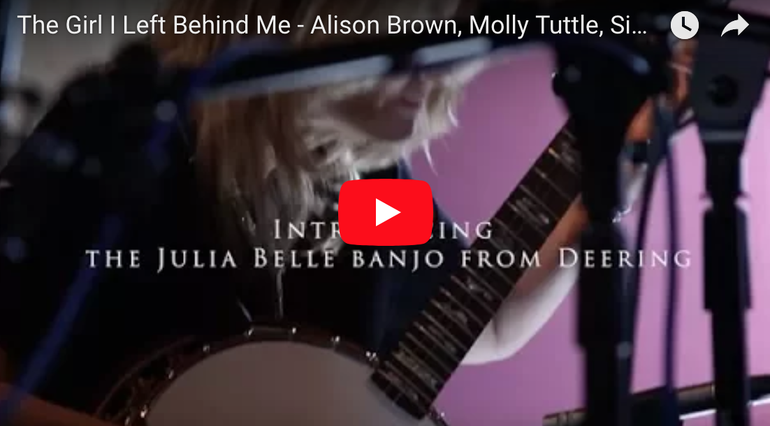 Alison Brown Plays The Girl I Left Behind Me