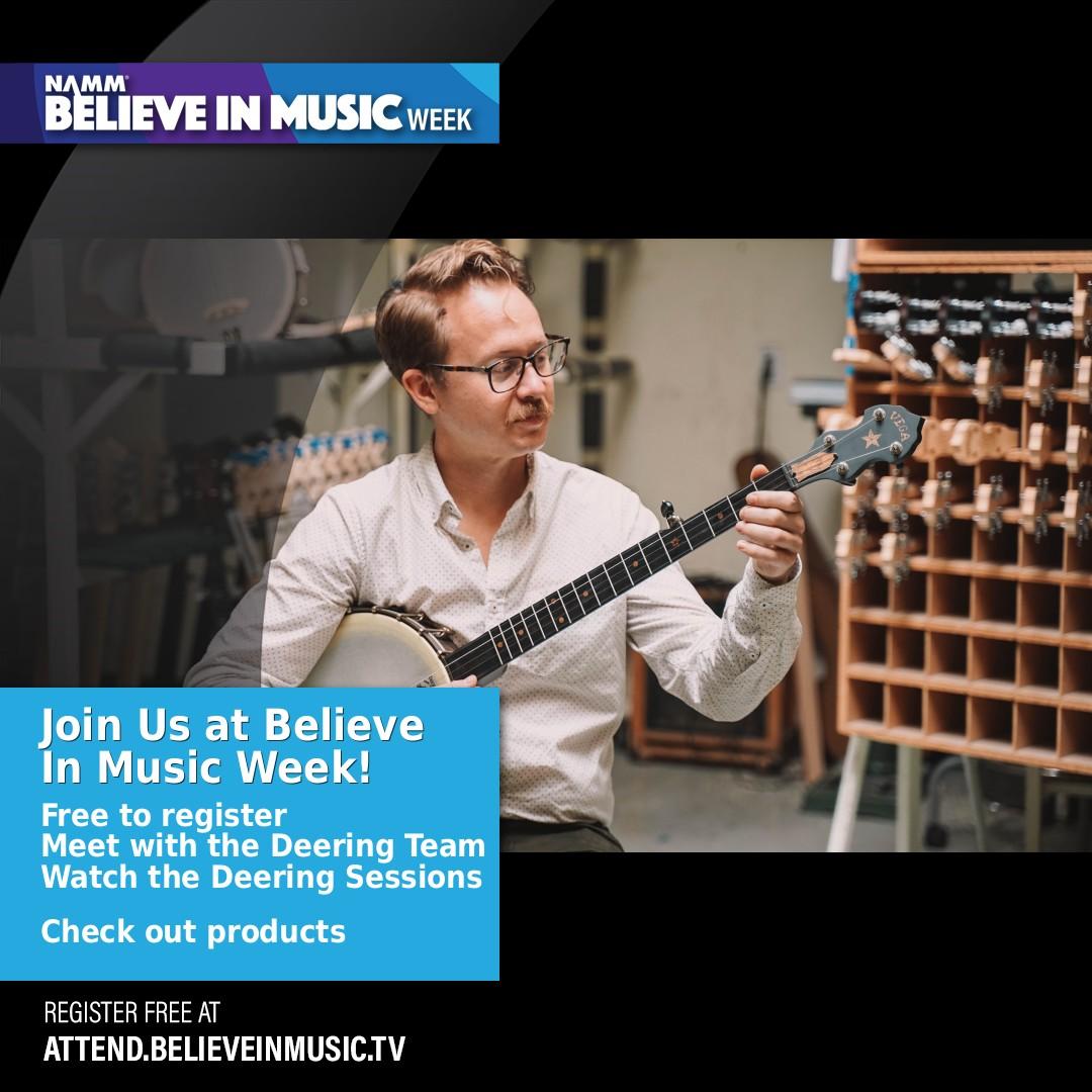 NAMM Believe In Music Week