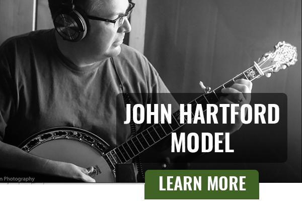 Ned Luberecki and the John Hartford Model Banjo